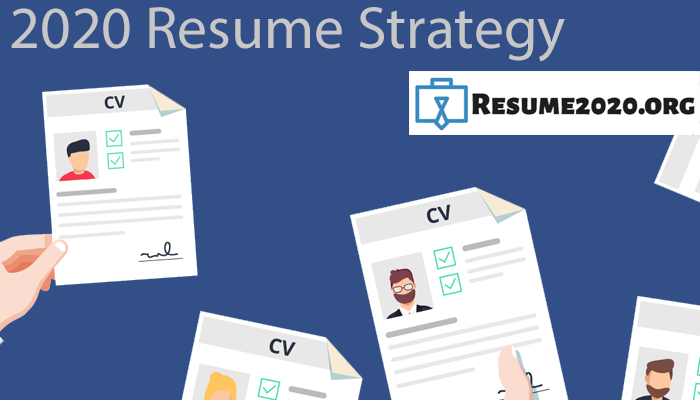 resume 2020 key strategies