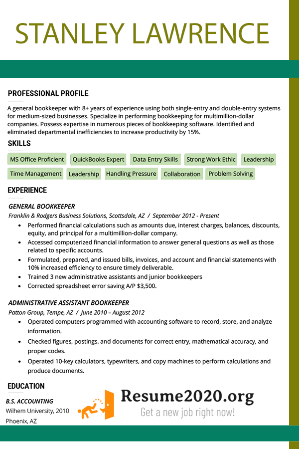Latest Resume Format 2020 Templates ⋆ Resume 2020