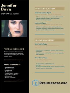 best resume template for 2020