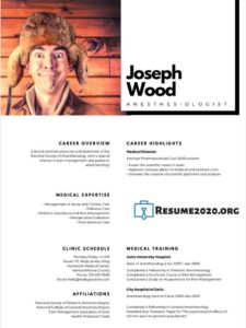 2020 resume template
