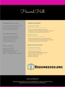 2020 resume