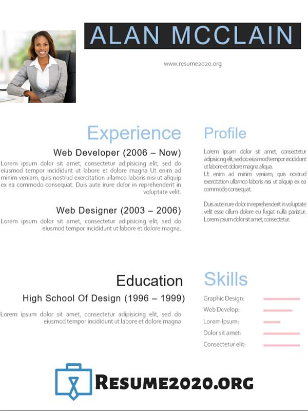 Professional CV 2020 templates