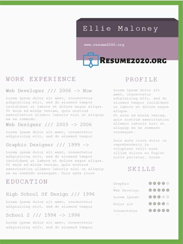 best resume templates 2020  u22c6 free 30 examples in docx