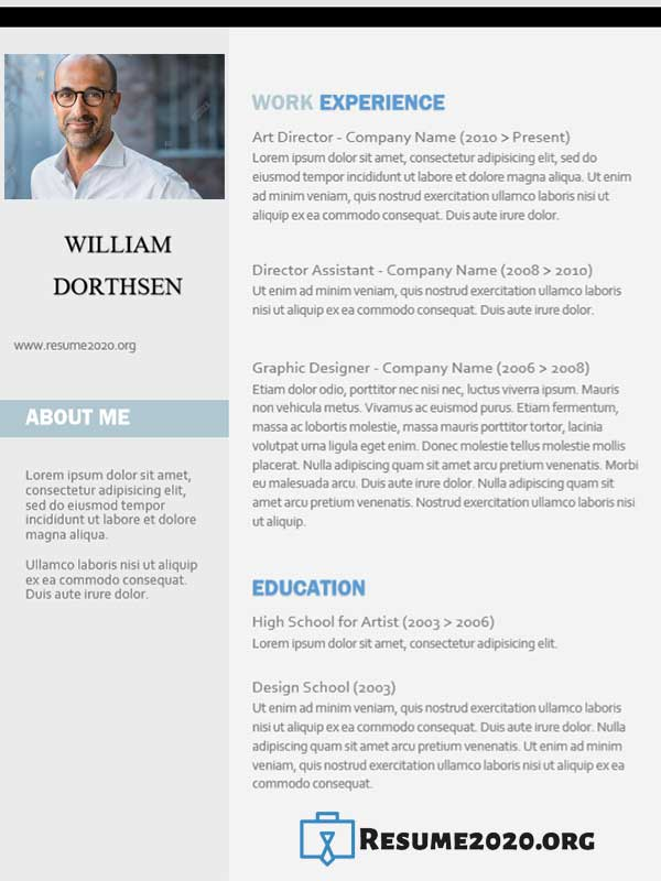 Targeted resume template 2020