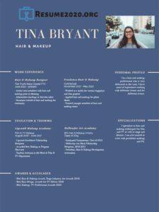 2020 resume template