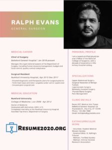 creative resume example 2020
