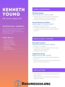 creative resume 2020 design