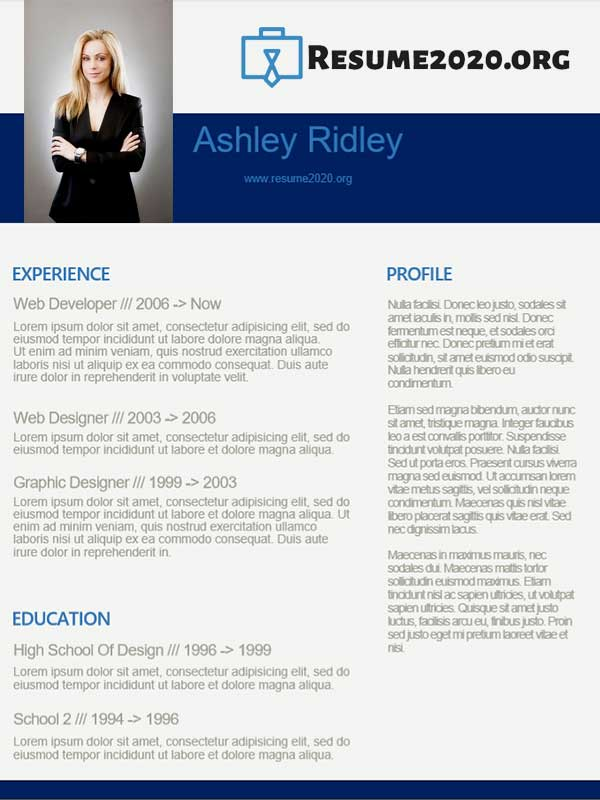 updated 2020 resume format